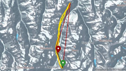 Elio Cioldi • 45.8 km • Zermatt -Rothorn • 15.04. 2019