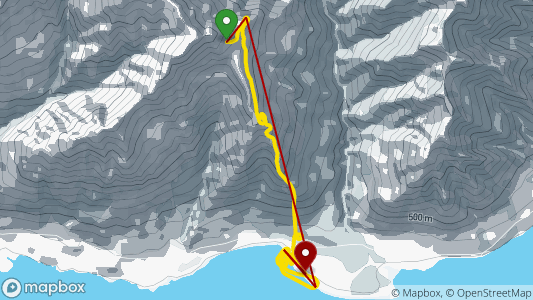 Richard Sidey • 4.4 km • Mark S Knob • 15.04. 2019