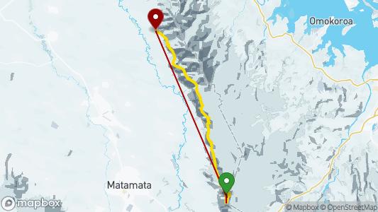 Mark Macdonald • 24.4 km • Kaimai • 15.04. 2019