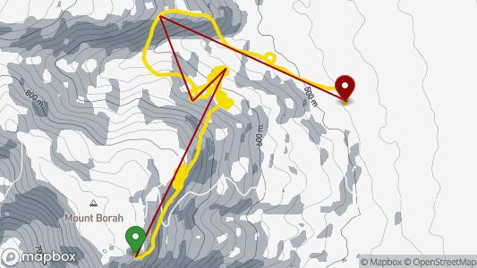 Cath Deacon • 3.9 km • Mt. Borah - S • 16.04. 2019