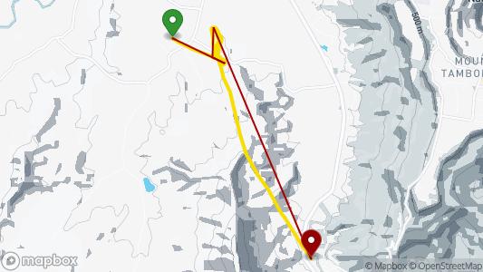 nick pierce • 8.5 km • Turffarm, Canungra • 15.04. 2019